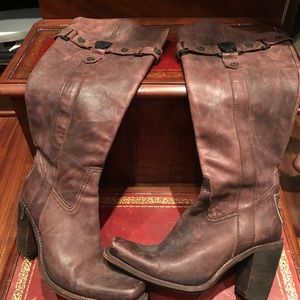 Leather Sole Boots from Spain